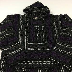 Vintage Pancho Hoodie Jacket M
